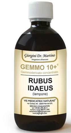 GEMMO 10+ GEMMODERIVATO CONCENTRATO LIQUIDO ANALCOLICO RUBUS IDEAUS LAMPONE 500 ML - Farmagolden.it