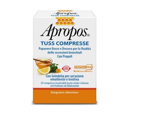 APROPOS SEDITUSS MIELE LIMONE 20 COMPRESSE MASTICABILI - La farmacia digitale