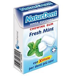 NATURDENT FRESH MINT CHEWINGUM - farmaciadeglispeziali.it