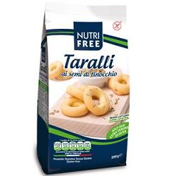 Nutrifree Taralli Ai Semi Di Finocchio Senza Glutine 200g - Farmaciacarpediem.it