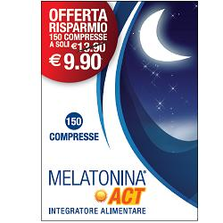 Melatonina Act 1 mg 150 Compresse - Farmalilla