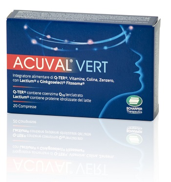 ACUVAL VERT 20 COMPRESSE 1,2 G - Farmapage.it