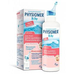 Physiomer Iper Baby Spray Nasale Ipertonico Decongestionante 115 ml - latuafarmaciaonline.it