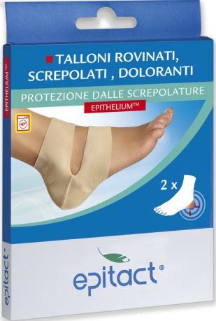 PROTEZIONE PER SCREPOLATURE TALLONI EPITACT TAGLIA UNICA 2 PEZZI - La farmacia digitale