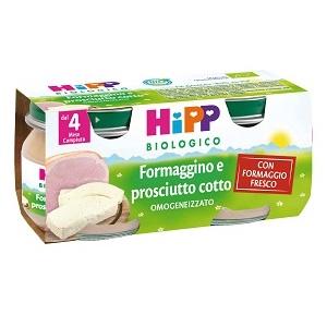 HIPP BIO OMOGENEIZZATO FORMAGGINO PROSCIUTTO 2X80 G - DrStebe
