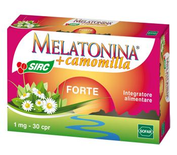 MELATONINA FORTE 30 COMPRESSE NUOVA FORMULAZIONE - Farmacielo