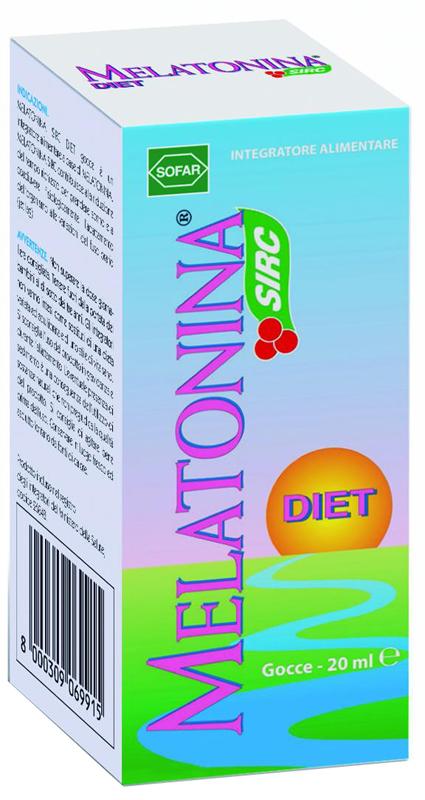 Sofar Melatonina Gocce Diet Sonno 20 ml - La tua farmacia online
