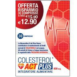 COLESTEROL ACT PLUS 30 COMPRESSE - latuafarmaciaonline.it