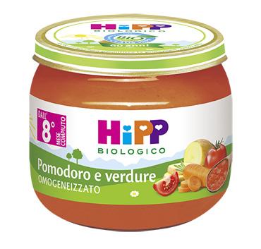 HIPP BIO HIPP BIO OMOGENEIZZATO SUGO POMODORO VERDURE 2X80 G - Farmajoy
