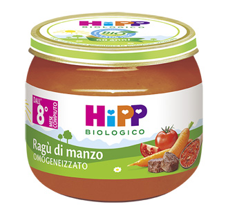 HIPP BIO HIPP BIO OMOGENEIZZATO SUGO RAGU' DI MANZO 2X80 G - Farmawing