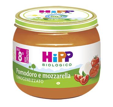 HIPP BIO HIPP BIO OMOGENEIZZATO SUGO POMODORO MOZZARELLA 2X80 G - FARMAEMPORIO