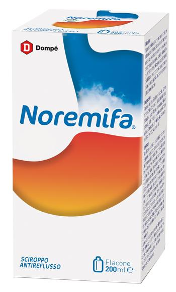 NOREMIFA SCIROPPO ANTIREFLUSSO 200 ML - Farmaseller