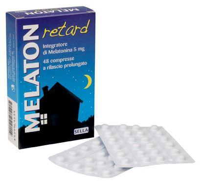 MELATON RETARD 1 MG 48 COMPRESSE - Farmaseller