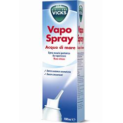 VICKS VAPOSPRAY ACQUA DI MARE IPERTONICO 100 ML - Farmaci.me