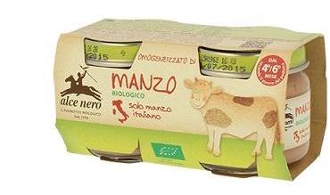 OMOGENEIZZATO DI MANZO BABY FOOD BIO 2 X 80 G - Farmastar.it