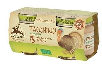 OMOGENEIZZATO DI TACCHINO BABY FOOD BIO 2 X 80 G - Farmastar.it