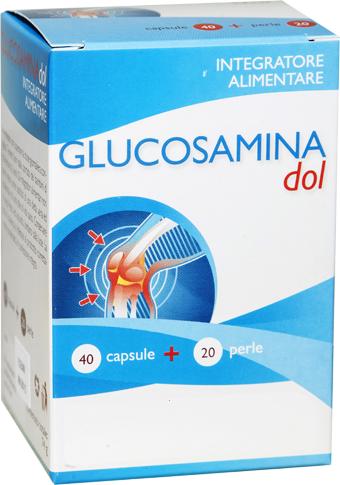GLUCOSAMINA DOL 40 CAPSULE + 20 PERLE - Farmapage.it