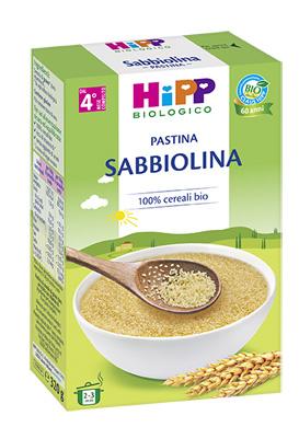 HIPP BIO PASTINA SABBIOLINA 320 G - Farmafamily.it