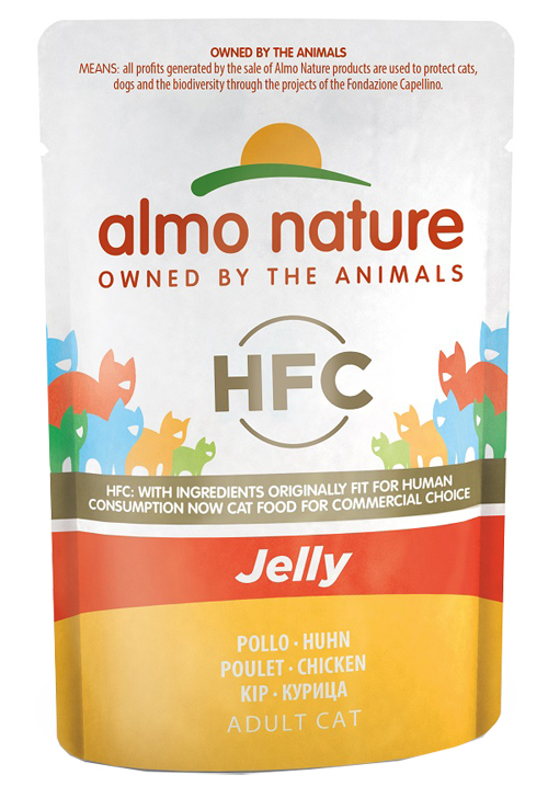 ALMO NATURE CLASSIC JELLY CON POLLO 55G - Farmawing