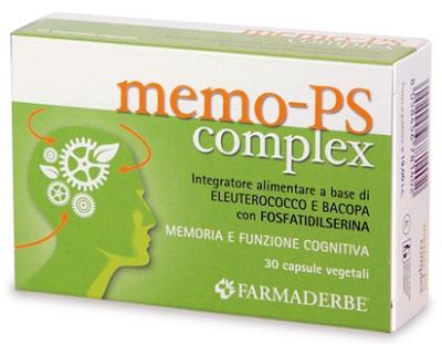 MEMO-PS COMPLEX 30 CAPSULE 14,1 G - FARMAEMPORIO