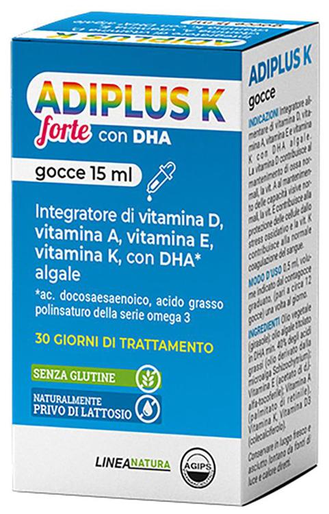 ADIPLUS K FORTE GOCCE FLACONCINO 15 ML - Farmaseller