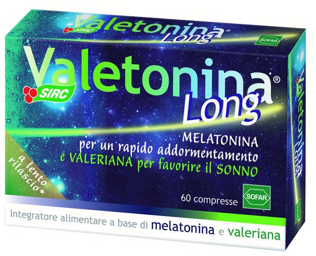 VALETONINA LONG 60 COMPRESSE ASTUCCIO 18 G - Speedyfarma.it