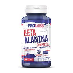 PRO LABS BETA ALANINA COMPRESSE 80 COMPRESSE - Farmacia Massaro