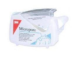 CEROTTO IN ROCCHETTO MICROPORE CM 2,5 X 5 MT DISPENSER 1 PEZZO - Farmapage.it