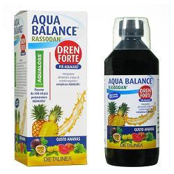 AQUA BALANCE RASSODAN DREN FORTE GUSTO ANANAS 500 ML DIETALINEA + AQUALOSS 2,8 G - Farmacia Puddu Baire S.r.l.