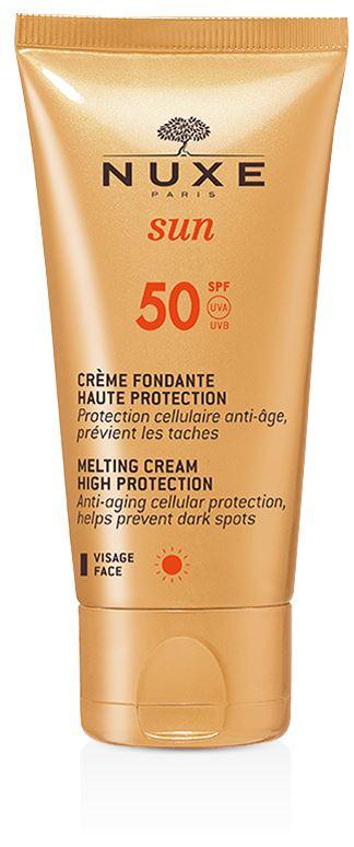 Nuxe Sun Crema Deliziosa Viso Protezione Solare SPF50