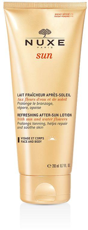 NUXE SUN LAIT FRAICH APRES-SOLEIL VISAGE ET CORPS 200 ML - La farmacia digitale