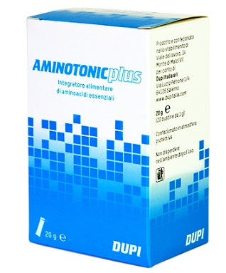 AMINOTONIC PLUS 20 BUSTINE 20 G - Farmaseller