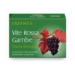 VITE ROSSA GAMBE TISANA BIOLOGICA - Farmastar.it
