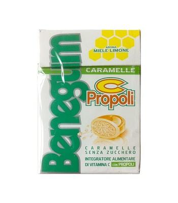 BENEGUM C PROPOLI CARAMELLE 43,5 G - Biofarmasalute.it