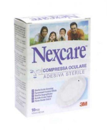 COMPRESSA OCULARE NEXCARE 10 PEZZI - La farmacia digitale