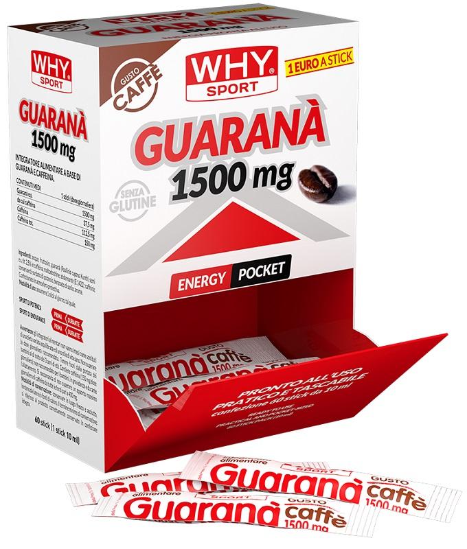 WHY GUARANA' 1500MG 1 BARRETTA STICK 10 ML - FARMAEMPORIO