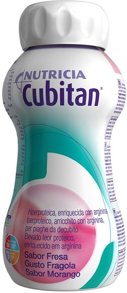 CUBITAN FRAGOLA 4 X 200 ML - Farmafirst.it
