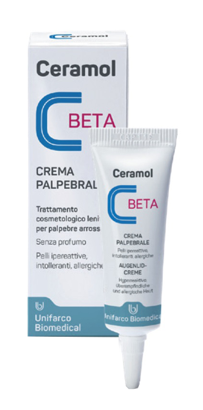 CERAMOL CREMA BETA COMPLEX PALPEBRALE TUBETTO 10 ML - Farmalke.it