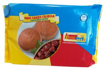 AMINO' HAPPY D MINI CAKES CILIEGIA 160 G - Farmaci.me