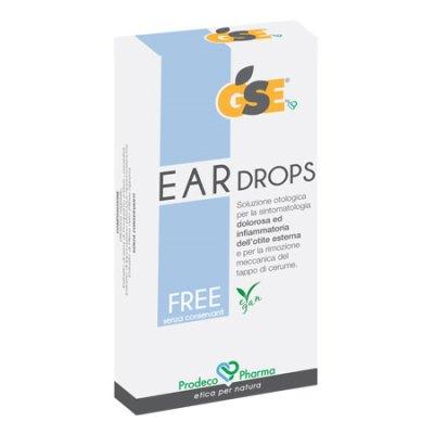 GSE EAR DROPS FREE 10 PIPETTE 0,3 ML - Farmacia della salute 360