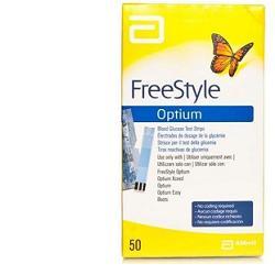 STRISCE MISURAZIONE GLICEMIA FREESTYLE OPTIUM TEST STRIPS 25 PEZZI - Farmastar.it