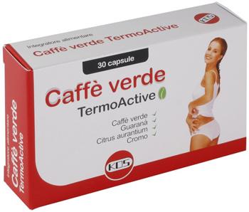 CAFFE' VERDE TERMOACTIVE 30 CAPSULE - Farmaseller