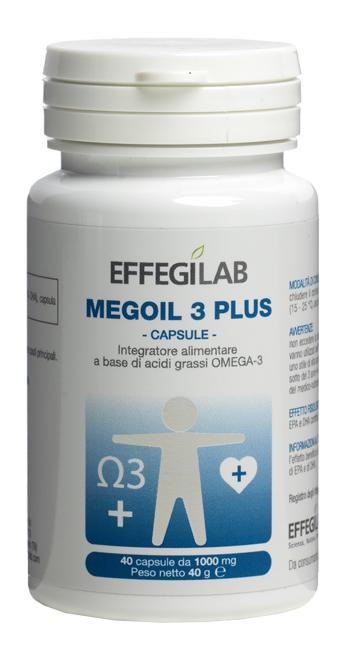 MEGOIL3 PLUS 40 CAPSULE