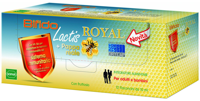 BIFIDO Lactis Royal 12 Flaconcini - Farmapage.it