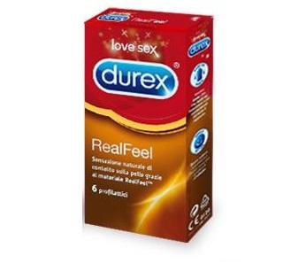 PROFILATTICO DUREX REALFEEL 6 PEZZI - Farmastar.it