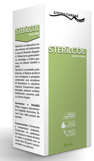 STERILCOL GOCCE ORALI SOSPENSIONE GASTROFUNZIONALE FLACONCINO 20 ML - Carafarmacia.it
