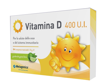 Vitamina D 400 U.I. Metagenics 84 Compresse - Farmawing