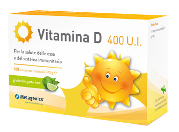 VITAMINA D 400 UI 168 COMPRESSE - Farmawing