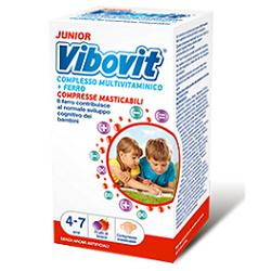 VIBOVIT JUNIOR 30 COMPRESSE MASTICABILI - Carafarmacia.it