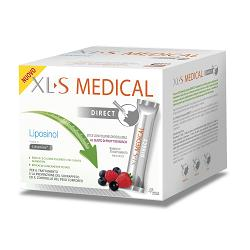 XLS MEDICAL LIPOSINOL DIRECT 90 BUSTINE STICK PACK 2,6 G - FARMAEMPORIO